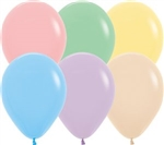 "11"" Pastel Assortment Balloons"