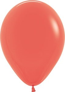 "11"" Fashion Coral Balloon"
