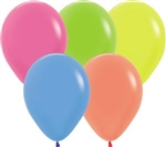 "11"" Neon Assortment Balloons"