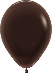 "11"" Deluxe Chocolate Balloon"