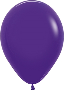 "11"" Fashion Violet Balloon"