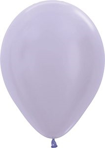 "11"" Pearl Periwinkle Balloons"