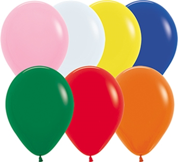 "11"" Fashion Assortment Balloons"