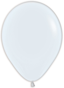 "11"" Fashion White Balloon"
