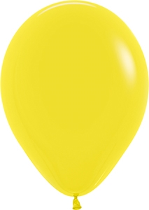 "11"" Fashion Yellow Balloon"