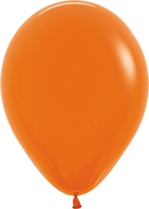 "11"" Fashion Orange Balloon"