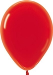 "11"" Crystal Red Balloons"