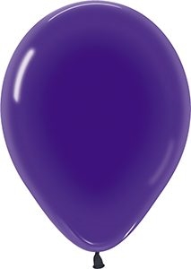 "11"" Crystal Violet Balloons"