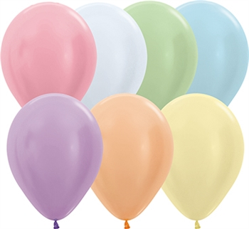 "11"" Pearl Assortment Balloons"