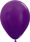"11"" Metallic Violet Balloon"