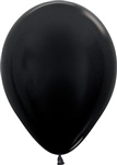"11"" Metallic Black Balloon"