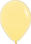 "11"" Pastel Yellow Balloon"