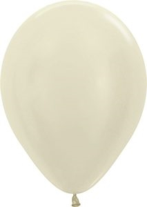 "11"" Pearl Ivory Balloons"
