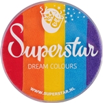 Superstar Dream Colors - 45gr Rainbow  for face and body painting