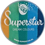 Superstar Dream Colors - 45gr  Emerald  for face and body painting