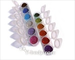 cosmetic glitter for 600 glitter tattoos: assorted pop-up cups