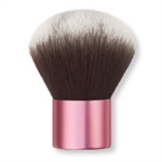 synthetic haired pink handle kauki brush