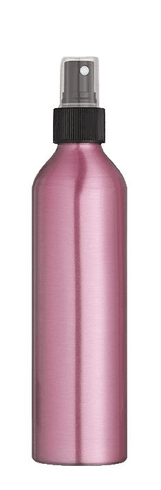 pink aluminum spray bottle