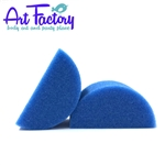 half circle  sponges for face painting made by the Art factory