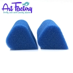 2 petal sponges for face painting made by the Art factory