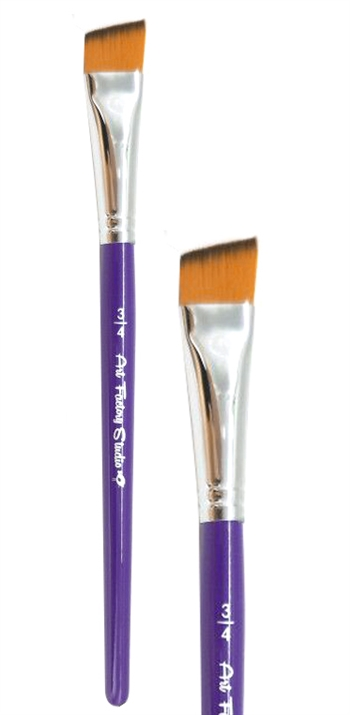 Face and body painting brush perfect one strokes and rainbow designs