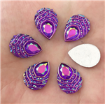 Perfectly Purple Raindrop Gems  for face painting bling, gem clusters, glitter paint, face painting, gems, rhinestones, stick on rhinestones