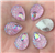 Princess Pink Raindrop Gems  for face painting bling, gem clusters, glitter paint, face painting, gems, rhinestones, stick on rhinestones