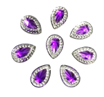 Purple Drop Gems  for face painting bling, gem clusters, glitter paint, face painting, gems, rhinestones, stick on rhinestones
