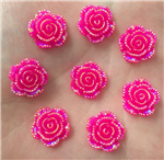 Hot Pink Flower Gems  for face painting bling, gem clusters, glitter paint, face painting, gems, rhinestones, stick on rhinestones