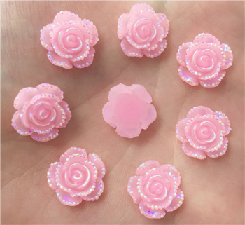 Light Pink Flower Gems  for face painting bling, gem clusters, glitter paint, face painting, gems, rhinestones, stick on rhinestones