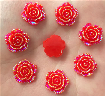 Red Rose Flower Gems  for face painting bling, gem clusters, glitter paint, face painting, gems, rhinestones, stick on rhinestones