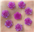 Purple Flower Gems  for face painting bling, gem clusters, glitter paint, face painting, gems, rhinestones, stick on rhinestones