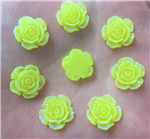 Electric Yellow Flower Gems  for face painting bling, gem clusters, glitter paint, face painting, gems, rhinestones, stick on rhinestones