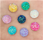 Confetti Round Gems in an assortment of colors  for face painting bling, gem clusters, glitter paint, face painting, gems, rhinestones, stick on rhinestones