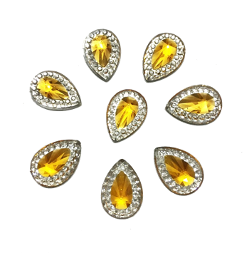 Yellow Drop Gems  for face painting bling, gem clusters, glitter paint, face painting, gems, rhinestones, stick on rhinestones