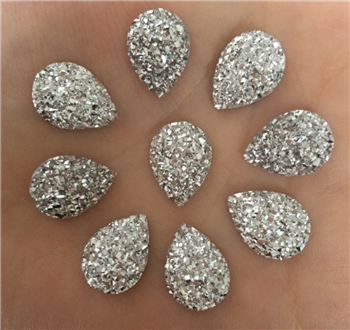 silver Sugar Crystal Gems in an assortment of colors  for face painting bling, gem clusters, glitter paint, face painting, gems, rhinestones, stick on rhinestones