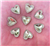 Green Rhinestone Heart Gems  for face painting bling, gem clusters, glitter paint, face painting, gems, rhinestones, stick on rhinestones