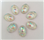 Crystal Oval Gems for face painting bling, gem clusters, glitter paint, face painting, gems, rhinestones, stick on rhinestones