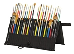 Heritage Folding Brush Holder — 48 brushes.