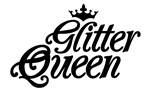 Glitter Queen Apron  3-Pocket apron