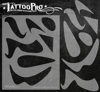 3cd0ec397 Tattoo Pro Stencils by Wiser - Freestyle Tools Stencil