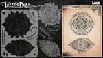 Tattoo Pro Stencils by Wiser - Lace Pattern Stencil