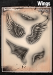 Tattoo Pro Stencils by Wiser - Wings Stencils