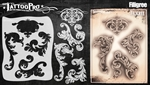 Tattoo Pro Stencils by Wiser - Filigree & Flair Stencil
