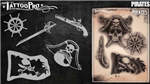 Tattoo Pro Stencils by Wiser - Pirates Stencils