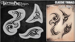 Tattoo Pro Stencils by Wiser - Tribal Stencils