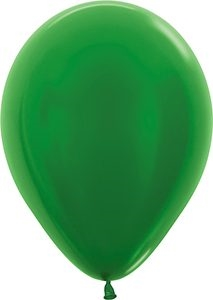 "11"" Metallic Green Balloon"