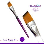 Long Angled 3/4 Blazin Brush by Marcela Bustamante