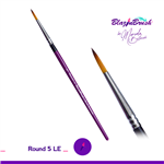 Round #5LE Blazin Brush by Marcela Bustamante