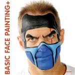 Basic Face Painting book by Brian and Nick Wolfe